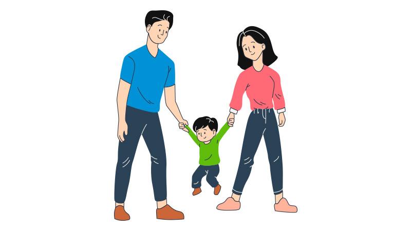 Beda Pola Asuh dengan Pasangan, Harus Bagaimana?