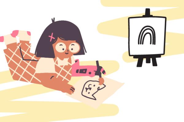 Anak Juga Bisa Belajar Desain Grafis, Caranya?