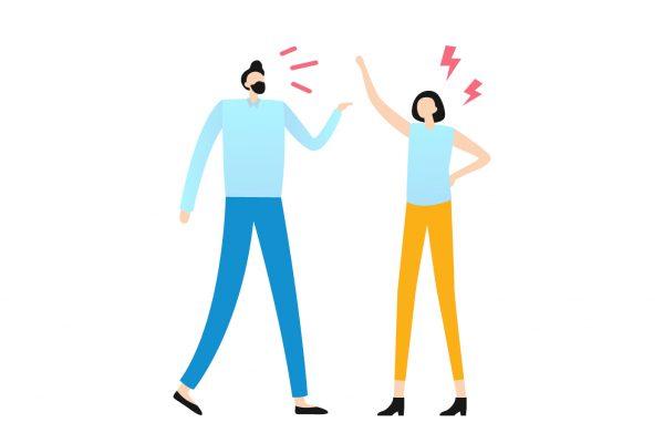 Pola Komunikasi Negatif Pasangan