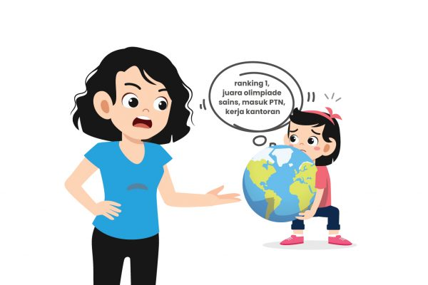 Yang Menyakiti Anak=Ekspektasi Tinggi